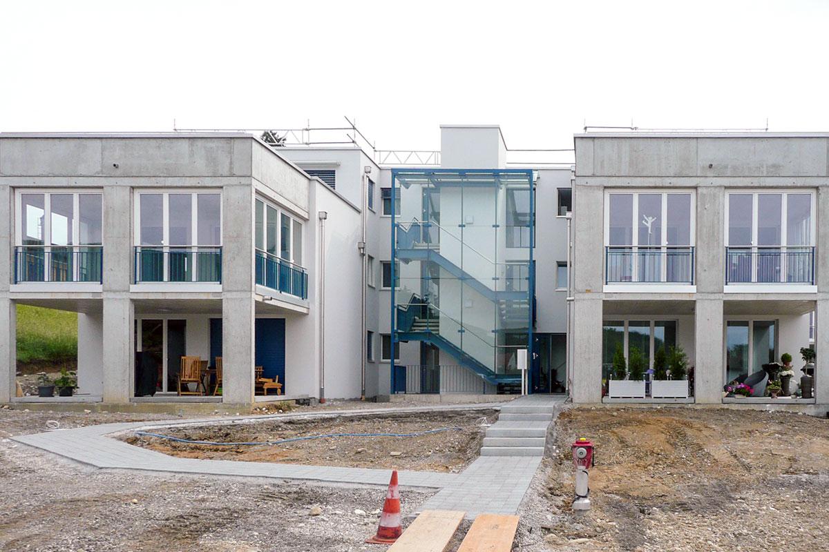 Neubau-Ueberbauung-Telanor-Lostorf-3 - Merz macht den Bau